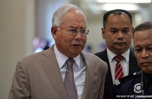 Kes SRC: Najib tidak nafikan tandatangan transaksi bank