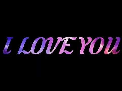 Download Gambar Tulisan I Love You Keren Vina Gambar