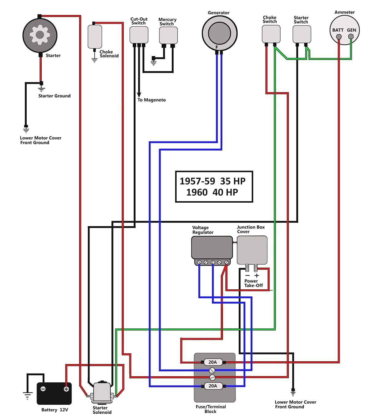 35 Hp Mercury Outboard Wiring Diagram