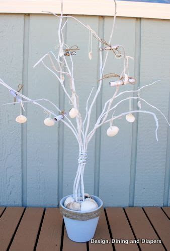 Beach Themed Money Tree for a Wedding Reception on the