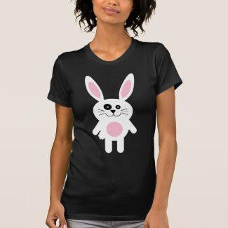 White Easter Bunny Tshirts