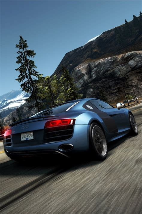 Need for Speed Audi R8   Simply beautiful iPhone wallpapers