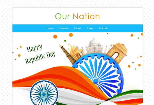 Our Nation a Newsletter Responsive Web Template - w3layouts.com