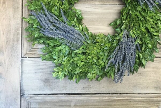 Want a chance to win a preserved boxwood wreath and botanical package?