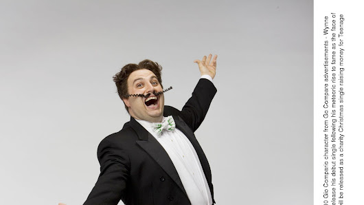 Image: GoCompare is probably best known for its brand character Gio Compario - the Welsh tenor Wynne Evans