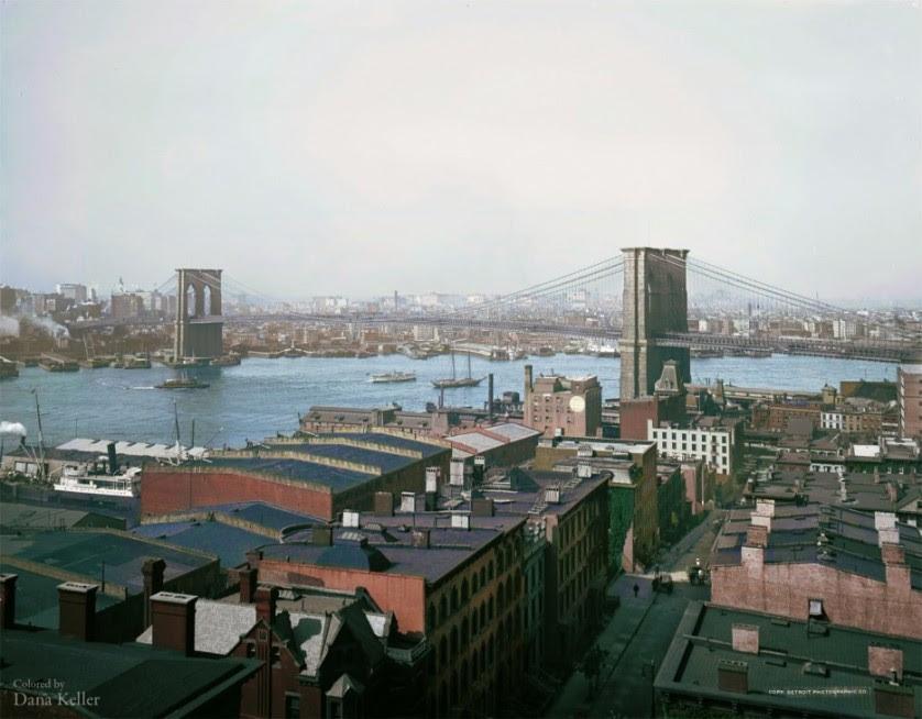 Ponte do Brooklyn   em 1904