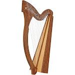 Roosebeck Minstrel Harp 29-String Roosebeck Minstrel Harp 29-String Chelby Levers Sheesham Vine