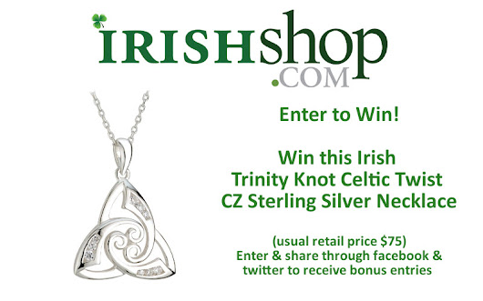 Win an Irish Trinity Knot Sterling Silver Necklace