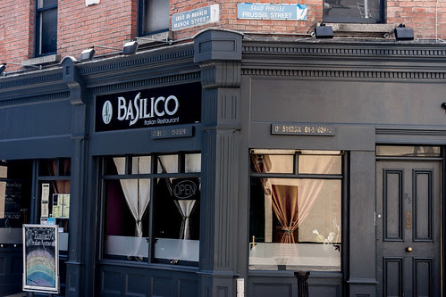 Basilico Restaurant Stoneybatter Area Of Dublin (Manor Street/Prussia Street) by infomatique