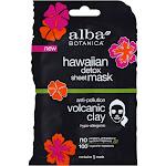 Alba Botanica Hawaiian Detox Anti-Pollution Volcanic Clay Sheet Mask