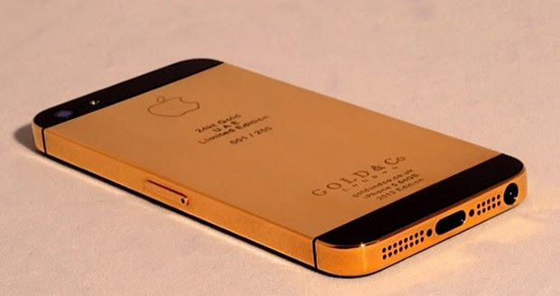 Gold & Co iphone 5 3