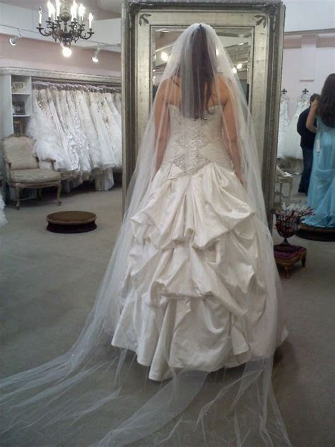 220 best images about Wedding Bustles on Pinterest   Lace