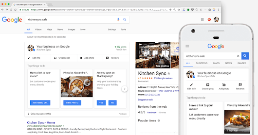 Google My Business Lets Admins Edit Review Replies from the Knowledge Panel - Search Engine Journal