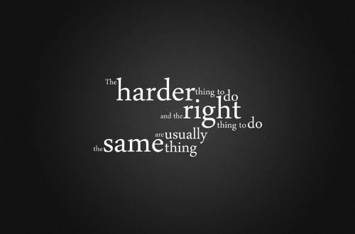 Popular Motivational Quote About Hard Work Harder Thing To Do And