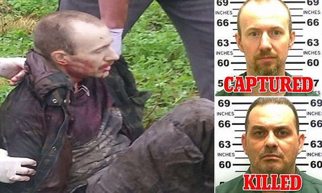 Prison escapee David Sweat captured in Constable, New York