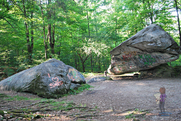 Balance Rock, Pittsfield, Massachusetts