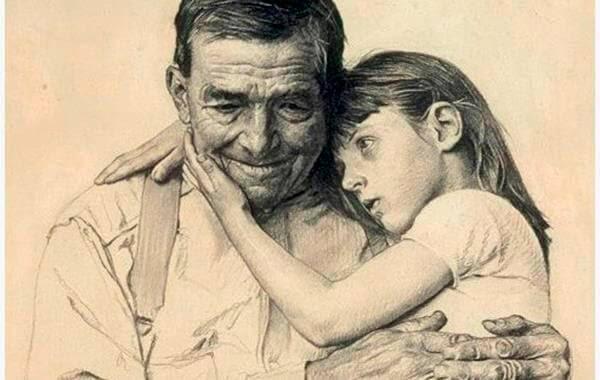 Menina-com-seu-avô