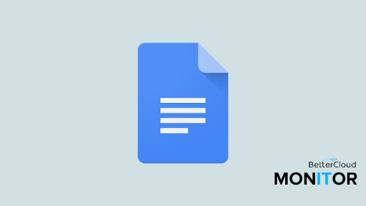 Create Fillable Text Boxes in Google Docs - BetterCloud Monitor