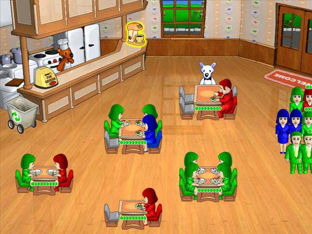 Milky Bear: Lunch Frenzy Free PC Game Screenshot