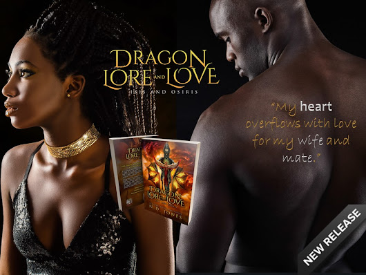 Happy Release Day to Dragon Love and Love: Isis and Osiris, a dragon shifter paranormal romance