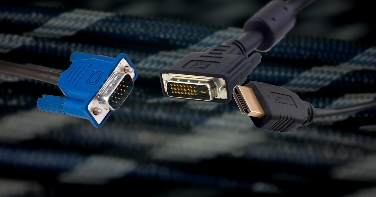 Video Cable Types Explained: Differences Between VGA. DVI. and HDMI Ports