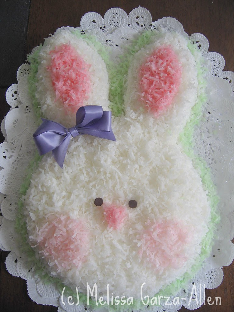 Old School Bunny Cake