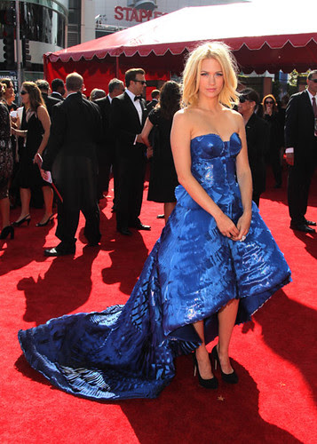 January Jones at the 62nd Primetime Emmy Awards