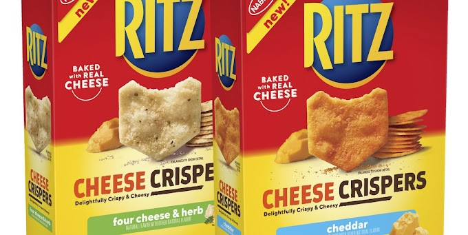 New Ritz Cheese Crispers Remix Your Childhood Cheese And Crackers