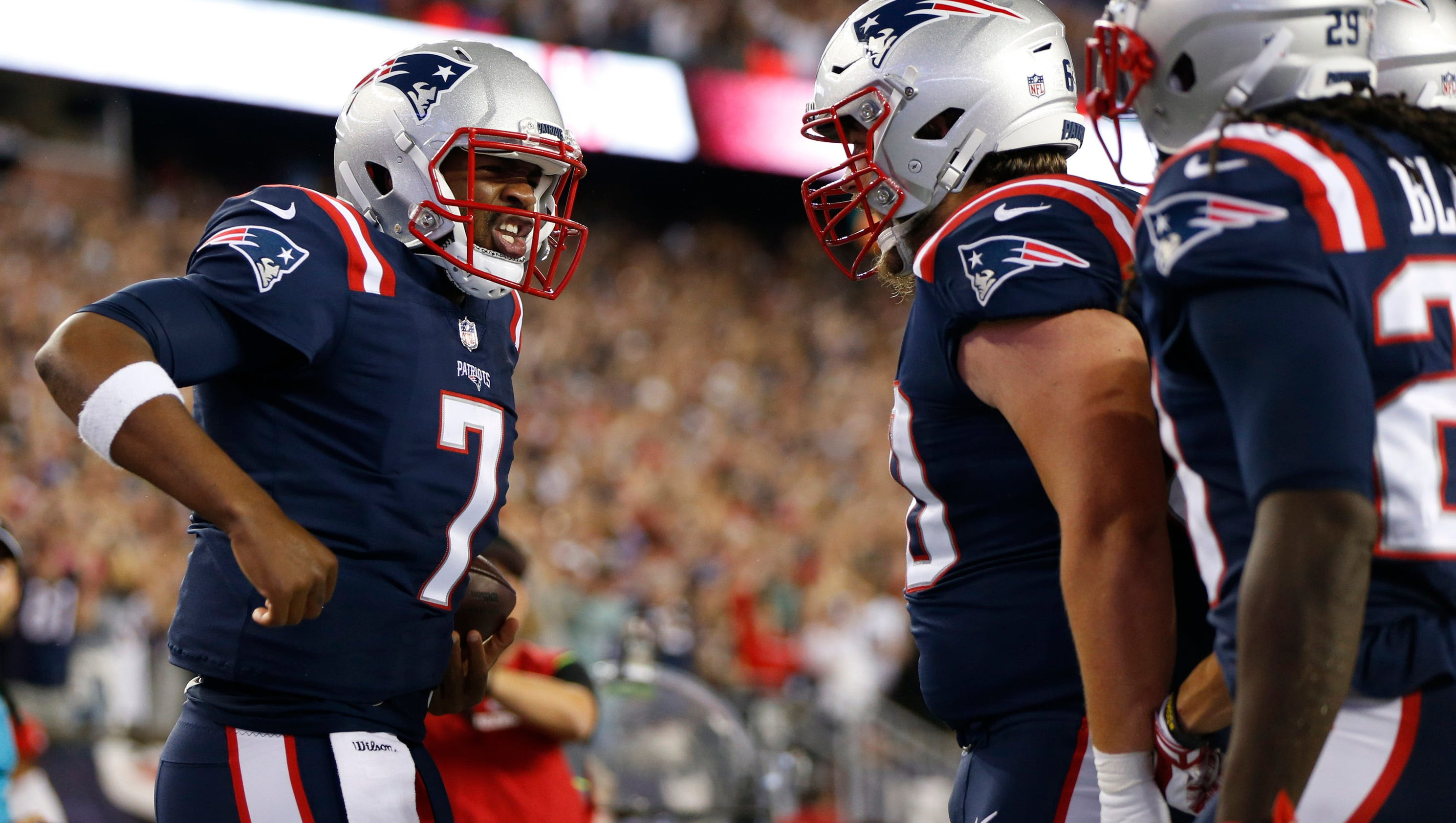 Jacoby Brissett wasnt perfect, but he delivered for Patriots in starting debut