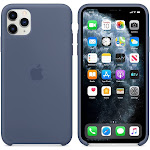 Brand New Apple iPhone 11 Pro Max Blue Silicone Case