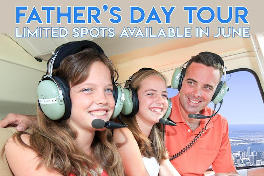 Father's Day is Sunday, June 17. Take dad on a helicopter adventure! - Corporate Helicopters