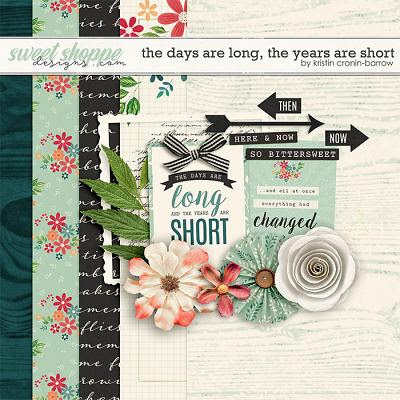 The days are long, the years are short by Kristin Cronin-Barrow