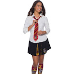 Rubie's Costume Girls' Harry Potter Gryffindor Tie, Red/Yellow, OS