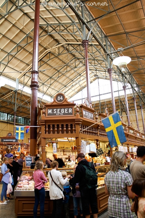Stoccolma: Östermalms Saluhall..