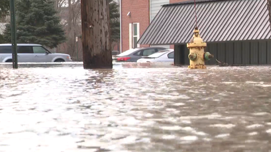 City of Niles says 50 buildings flooded, St. Joseph River starts to recede