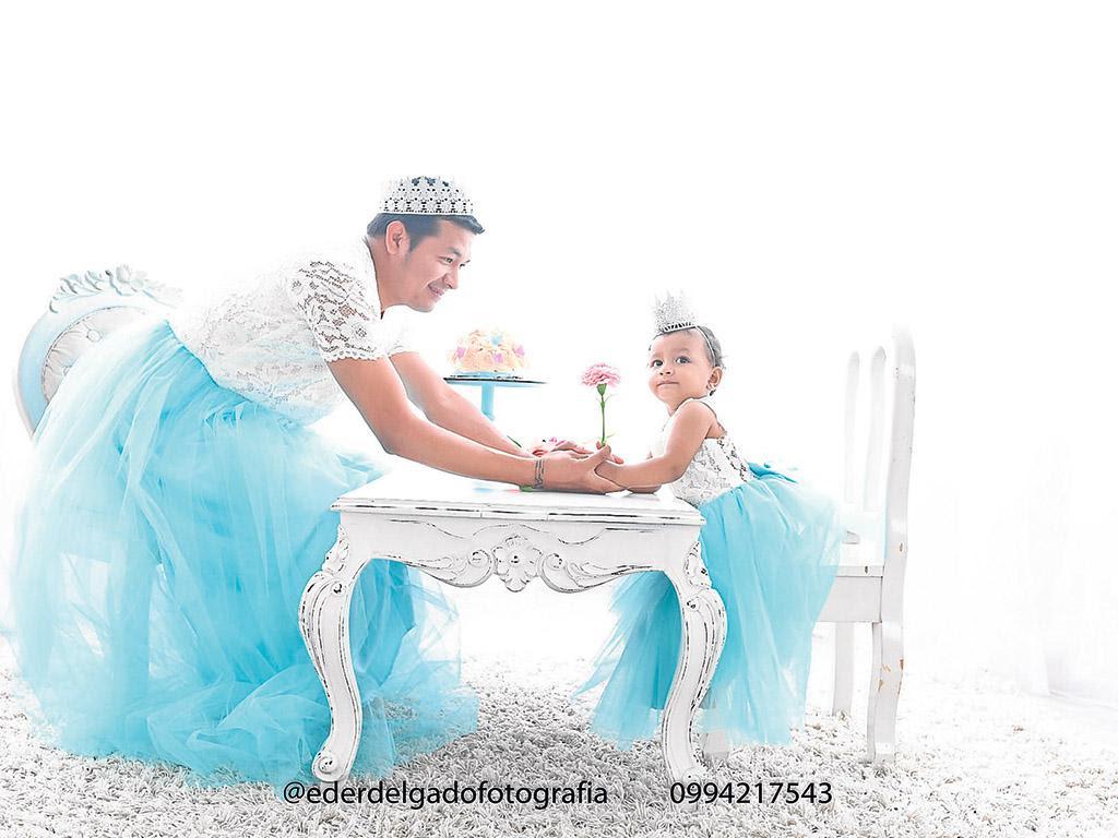 El Hombre Que Se Vistió De Princesa Por Amor A Su Hija Diario La Marea