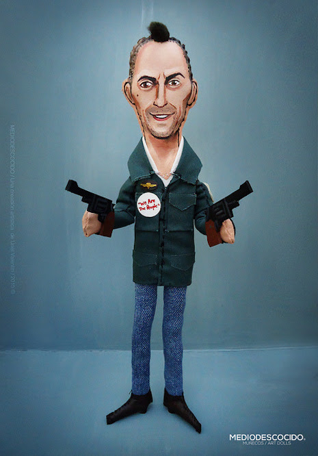 Travis Bickle (played by Robert DeNiro in the 1976 film, Taxi Driver)