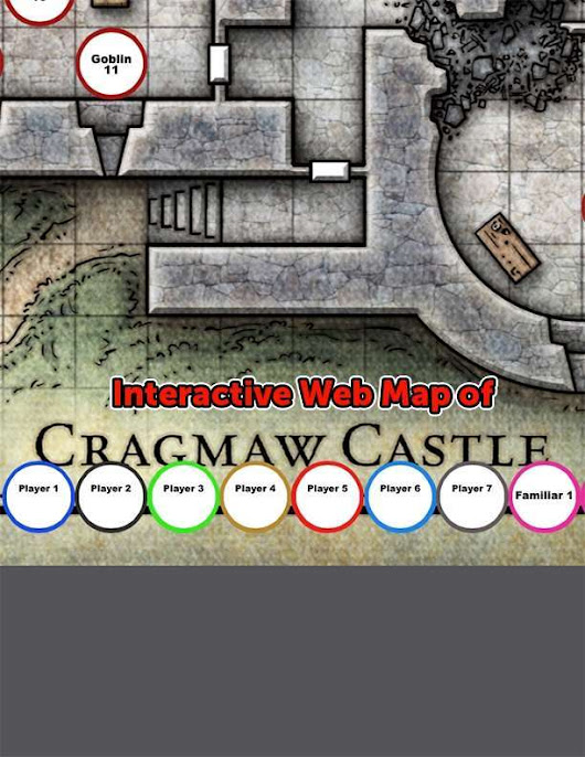 Interactive Map of Cragmaw Castle