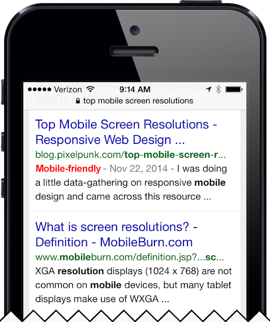 Google's Mobile-Friendly Search Results | Responsive Design | Baltimore