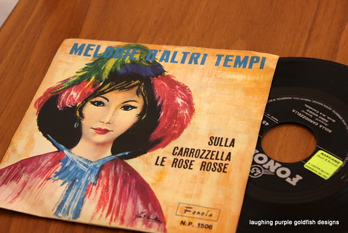 Vinyl Record for Recycling