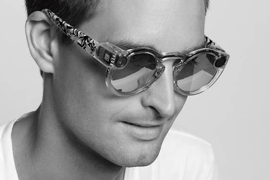 Snapchat Releases First Hardware Product, Spectacles - WSJ