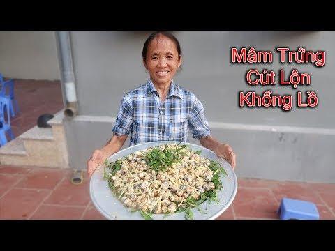 Bà Tân Vlog - Làm Mâm Trứng Cút Lộn Khổng Lồ Bằng 500 Quả Trứng