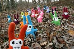 skull bunny parade