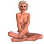 1073307-Clipart-3d-Sexy-Blond-Pinup-Woman-In-The-Nude-5-Royalty-Free-CGI-Illustration