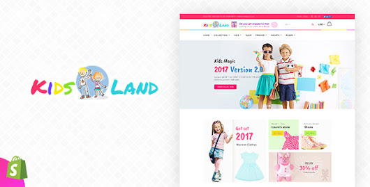 Kids Store | Vibrant Kids Clothing and Accessories Shopify Theme