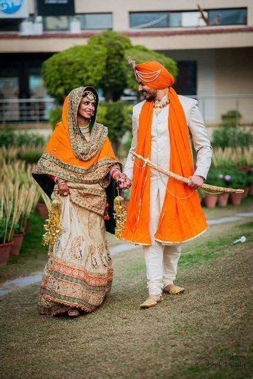 Best 20  Punjabi wedding suit ideas on Pinterest   Red
