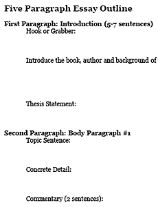 writing a five paragraph essay research paper 9th grade