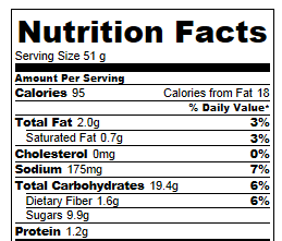 Nutella Rice Crispy Treats: Calories and Nutrition Facts ...