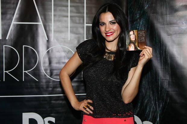 Maite Perroni, ex-integrante do RBD (Foto: Manuela Scarpa/Foto Rio News)