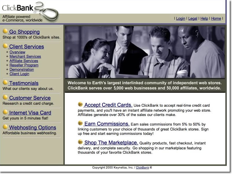 Clickbank.com In 2001